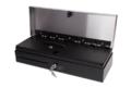 Денежный ящик Штрих HPC 460 FT черный с нержавеющей крышкой